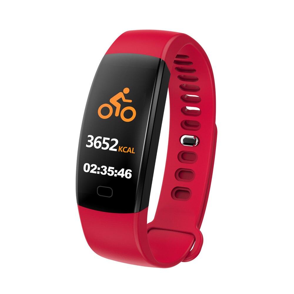 F64 Fitness tracker heart rate monitor Blood pressure Smart bracelet samrt band 02