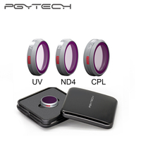 NEW SALE PGYTECH DJI Mavic 2 Zoom UV CPL ND4 Filters for DJI Mavic 2 Zoom Drone Professional Camera Lens Filters Accessories