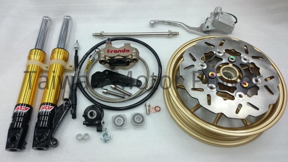 "Taiwan NCY Forks 10"" Wheel Disc Brake Kit Frando Caliper ..."