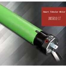 Высокое качество оригинал dooya Tubular Двигатель 220 В 50 мГц DM35R для Двигатель ized прокатки жалюзи biult в Приемник 433 мГц для удаленного