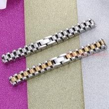 Trendy Cool Men Bracelet New Silver Gold 316L Stainless Steel Men Bracelet For Boyfriend Girlfriend Jewelry