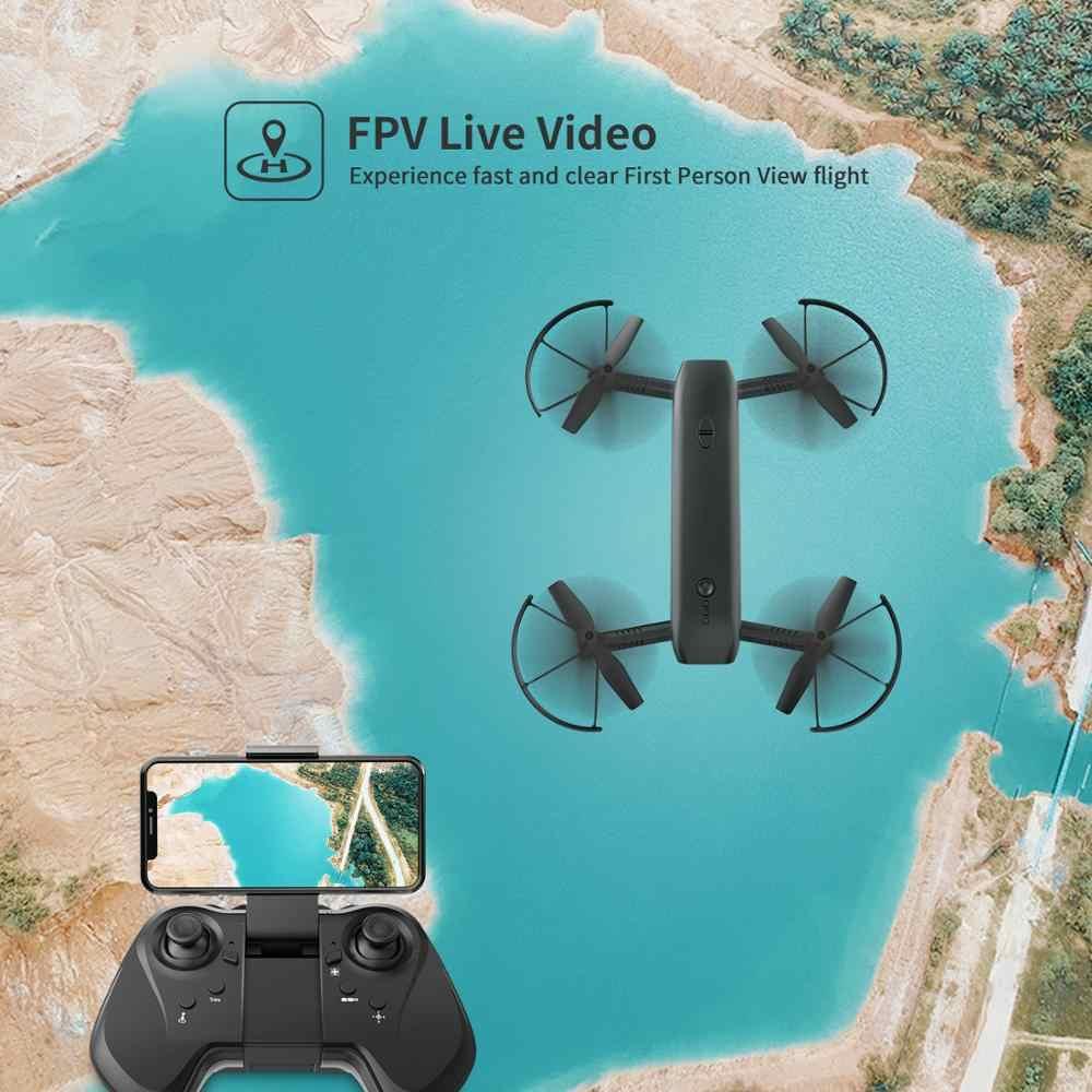 Holy Stone HS161 FPV Дрон с камерой 1080P HD селфи Дрон складной Дрон оптический поток позиционирования фонарик RC Квадрокоптер