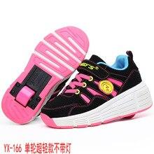 EUR 28-37 NEW Children Junior Roller Skate Shoes Kids Sneakers with Heelys