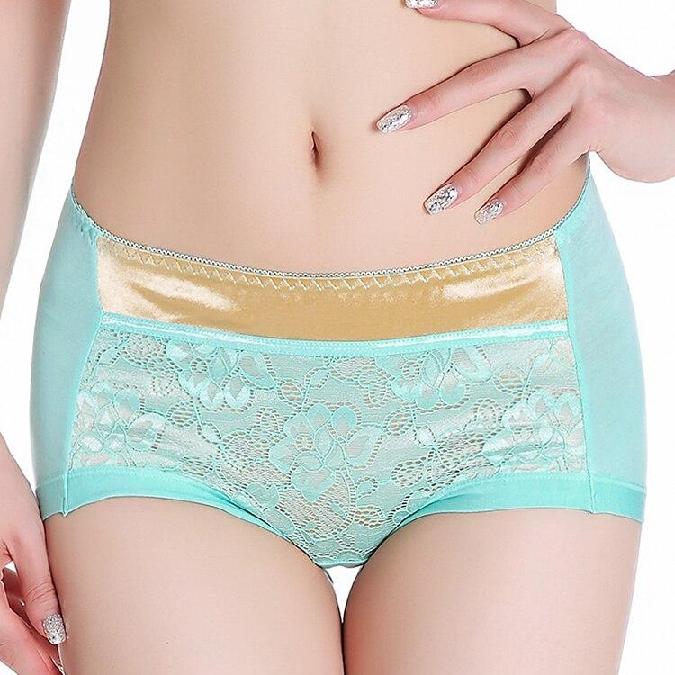 Women underwear briefs sexy womens Panties Plus Size Straight waist Brirfs Sexy Hip Lace Modal Plus Size M L XL XXL Underwear