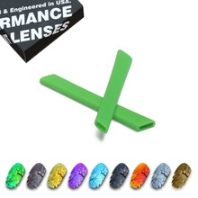 ToughAsNails Polarized Replacement Lenses & Dark Green Ear Socks for Oakley Jawbone Vented Sunglasses - Multiple Options