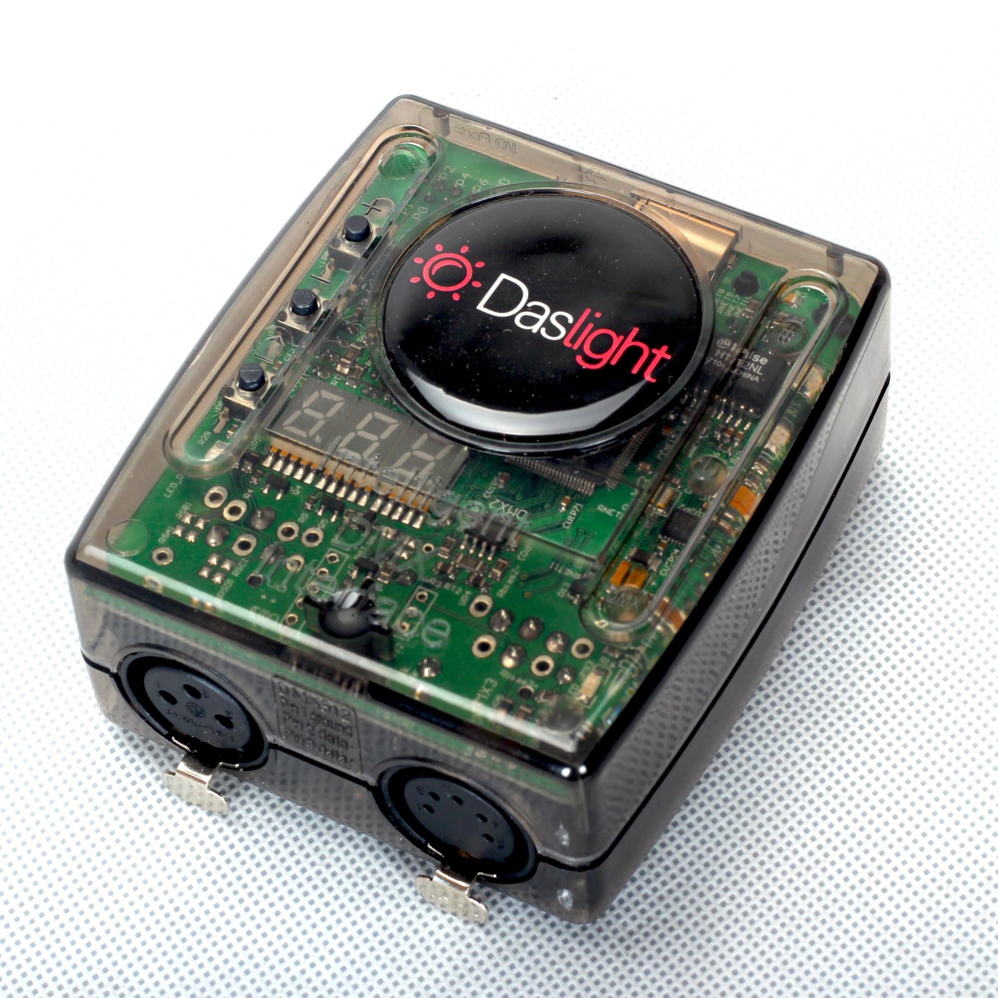 2019 nouvelle Version Daslight DVC 4 GZM logiciel d'éclairage de scène interface dmx USB DMX512 1024 contrôleur pour disco dj lumière