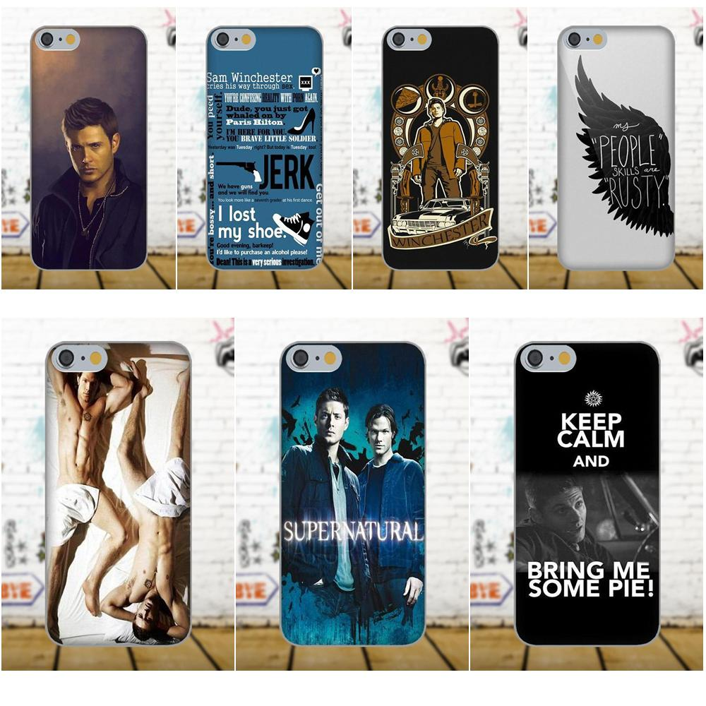 For Galaxy A3 A5 A7 J1 J3 J5 J7 S5 S6 S7 S8 S9 edge Plus 2016 2017 Diy Colorful Drawing TPU Supernatural Dean Sam Winchester ...