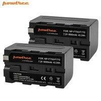 2 stücke NP-F750 NP-F770 NP F750 NP F770 Batterie Für Sony CCD-TR917 CCD-TR940 CCD-TRV101 CCD-TRV215 CCD-TRV25 CCD-TRV36 L10