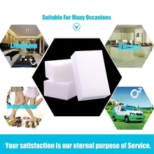 8PCS/10*6*2.5cm Magic Sponge Eraser Melamine Cleaner Multi-Functional Kitchen Bathroom Cleaning Tools Nano New Arrival