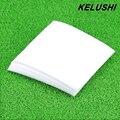 KELUSHI Оптовая антистатические безворсовые салфетки пыли бумаги пыли бумаги 50 шт. волоконно-оптические инструменты 100*100 (ММ) Бесплатная Доставка