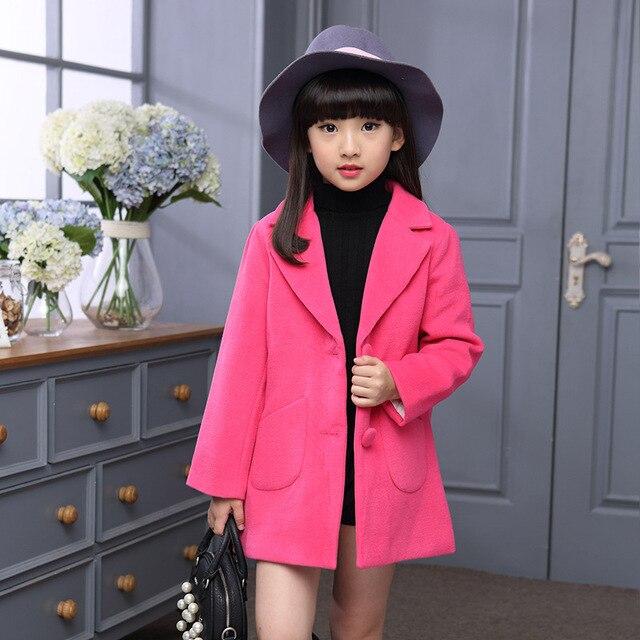 6d245766c493 Fall Kids Sweet Jacket Children s Spring Autumn Coat Fashion Baby ...