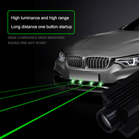 Car Laser artillery radium lamp Spotlight Motorcycle Refit Decoration General Warning Light