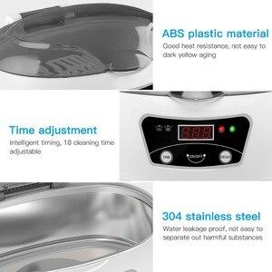 Image 3 - SKYMEN 0.6L nettoyeur à ultrasons bain lavage réservoir bijoux montre anneau lunettes pièces argent pièces