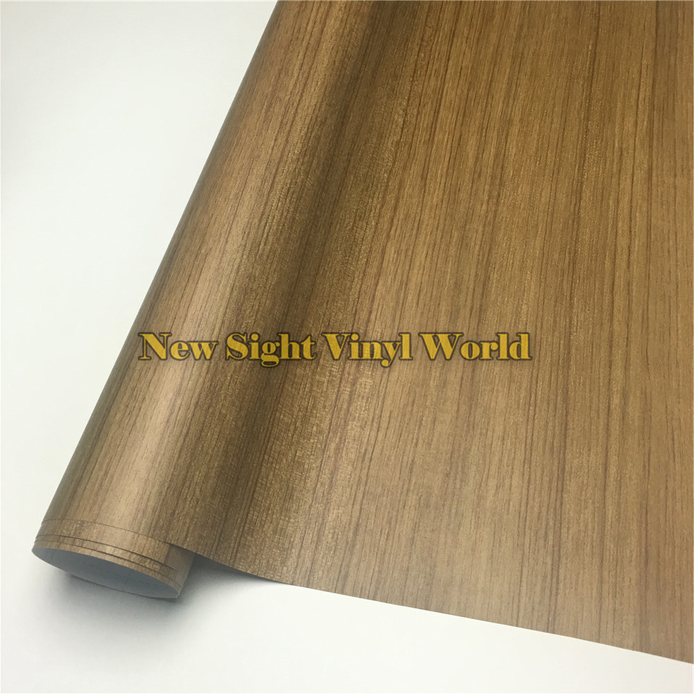 Acacia Wood Self Adhesive Vinyl Acacia Wood Vinyl Wrap For Floor Furniture Car Interier Size:1.24X50m/Roll(4ft X 165ft)