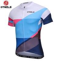 OTWZLS HOMME D'été Racing Vêtements Vélo Court Jersey Professionnel Tops Ropa Ciclismo Coolmax maillot plaine équipement