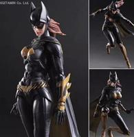 Batgirl Action Figure Play Arts Kai Batman Arkham Knight PVC Figure Toy Movie Bat Man Playarts Kai Model Justice League PA16