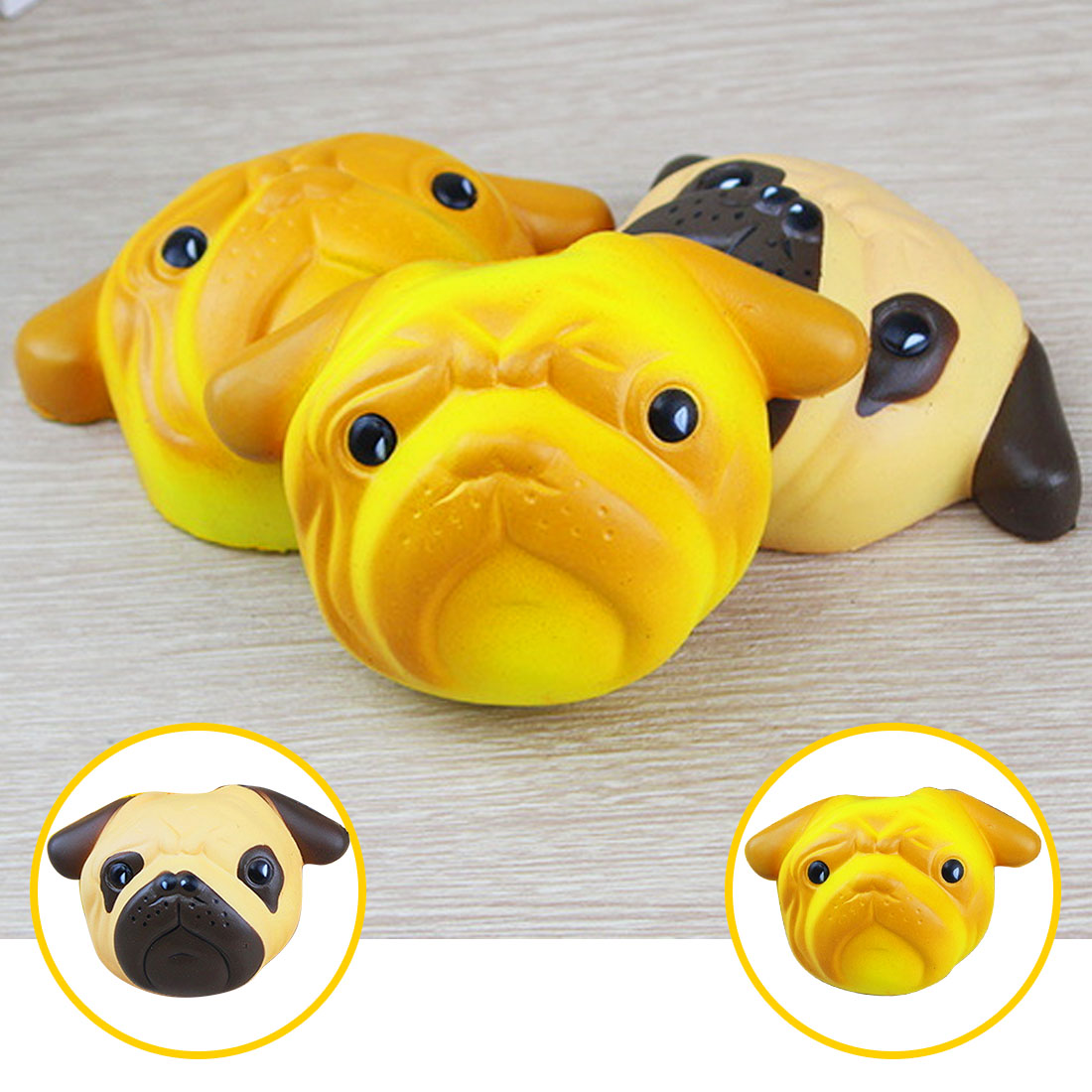 Cellphones & Telecommunications Etmakit Slow Rising Squishy Dog Face Bread 11cm Jumbo Pendant Kawaii Phone Straps Stretchy Squeeze Cream Scented Cake Toy Mobile Phone Accessories