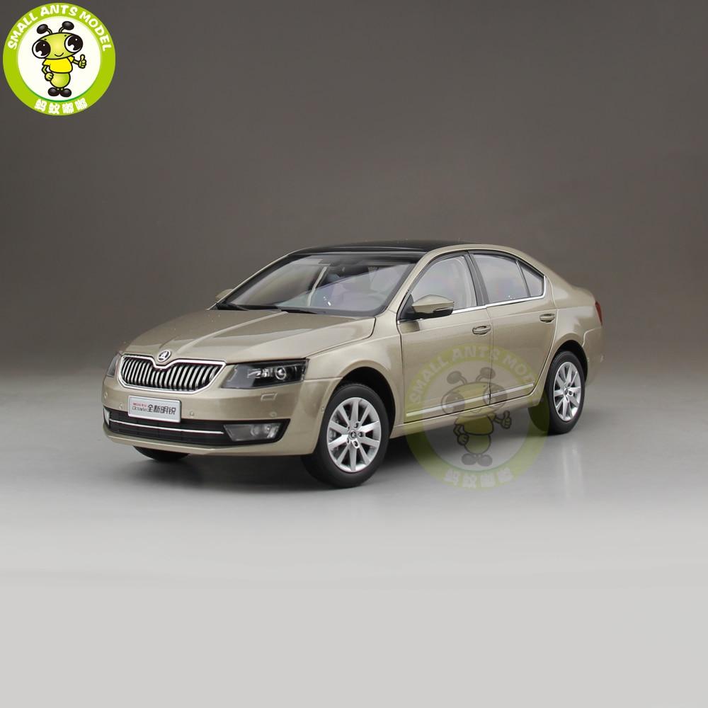 1/18 Octavia 2014 Diecast Metal CAR MODEL Toy Boy Girl Gift Gold