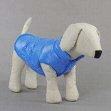 Новый Собак Pet Зима Ватник Пуховик Щенок Теплый Кот Жилет Одежда