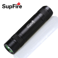 Mini LED Flashlight Handy Portable Torch Black Rose Golden Color CREE XPE Waterproof 18650 Recharageble Battery