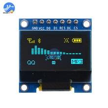 0,96 дюймовый IIC Серийный oled-экран дисплей модуль 128X64 igc общаться SSD1306 12864 плата с ЖК-экраном для Arduino