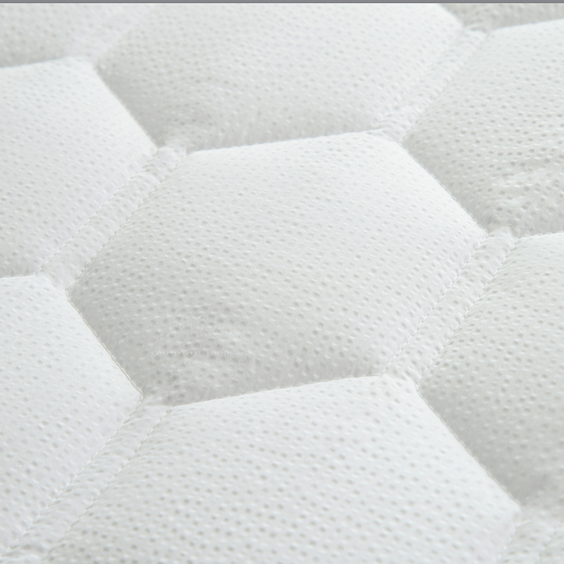 White Bed Protection Pad, Quilted Mattress Protector, Polyester Woven, Twin, Full, Queen, King 19