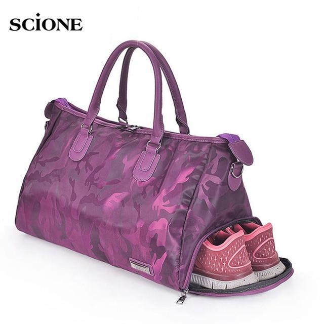 Fitness bags Shoulder Gym Bag for shoes Training men women Traveling handbags Yoga sac de sport Tas Gymtas Sporttas 2019 XA510WA