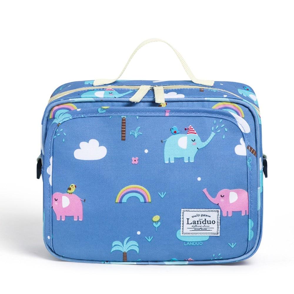 Diaper bag blue
