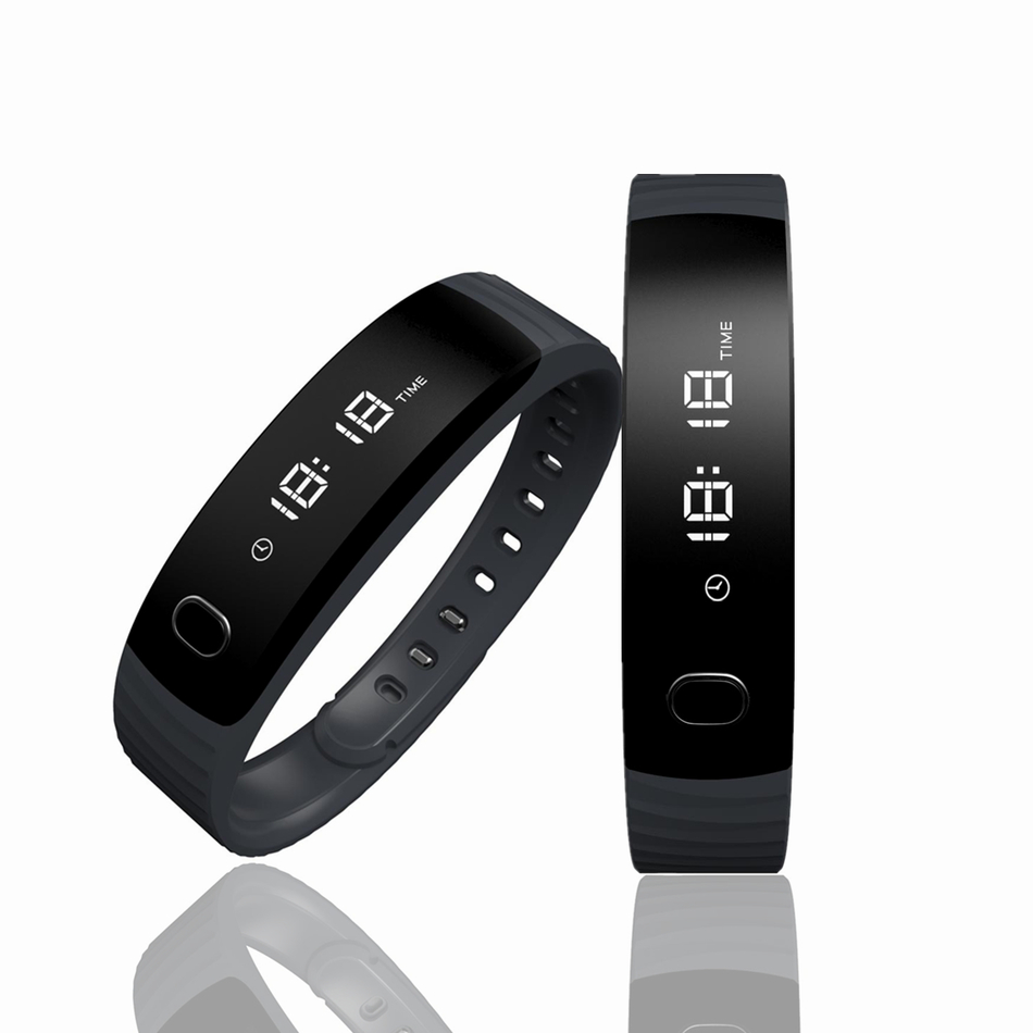 imágenes para H8 Banda Inteligente Pulsera Bluetooth Podómetro Gimnasio Rastreador Pulsera Smartband Pulsera Cámara Remoto Para Android iOS