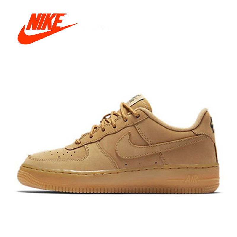 Original New Arrival Offical Nike Air Force 1 Low AF1 Breathable Men's Skateboarding Shoes Sports Sneakers Classique