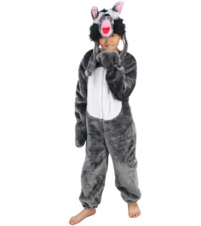 wolf costume for children wolf cosplay lovely animal costumes for children animal jumpsuit halloween costumes for - Wolf Halloween Costume Kids