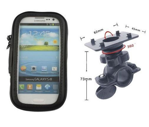 Bike Attachment For Iphone 6 Plus Motorcycle Navigation Handlebar