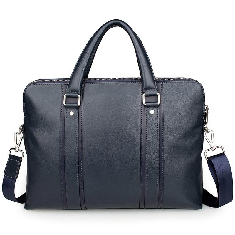 Extreme สไตล์อังกฤษหนังแท้กระเป๋าถือชายกระเป๋าถือกระเป๋าถือสำหรับ 15 นิ้วแล็ปท็อป PR087325-ใน กระเป๋าเอกสาร จาก สัมภาระและกระเป๋า บน   1