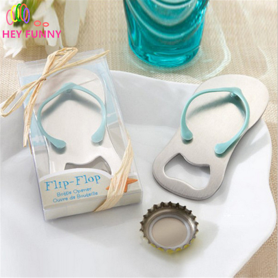 1pc High Quality Slippers Zinc Alloy Bottle Opener Wedding Favors ...