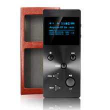 Xduoo X3 ( + leather case free ) Portable High Resolution Lossless DAC DSD Music Player pk Colorfly