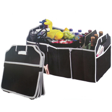 Black Car Trunk Organizer AUTOYOUTH Collapsible Toys Food Storage Truck Cargo Container Bags Box Car Auto Accessories