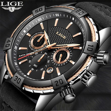 2018 Men Watch LIGE Mens Watches Top Brand Luxury Men's Casual Leather Waterproof Quartz Watch Men Sport Watch Relogio Masculino lige watch men sport quartz wristwatches leather mens watches top brand luxury waterproof business watch man relogio masculino
