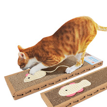 Cats Toy Scratching Board Sisal Hemp Scratcher Cat Scratch Pad Claw Posts Training Interavtive Toys For Pet Supplies