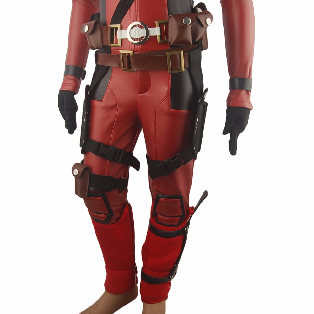 Dzieci Chłopcy X-Men Deadpool Wade Wilson Strój Jednolite - Kostiumy - Zdjęcie 5