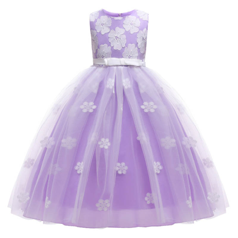 Evening   dress     flower     girl   clothes for wedding kids   dress   first communion princess   dress   baby party costume children's clothing
