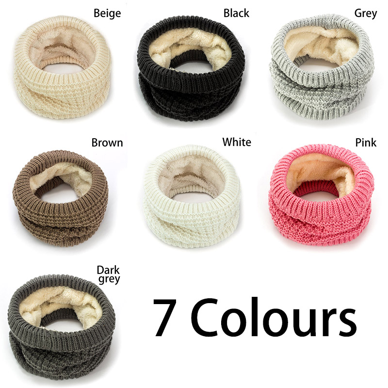 Apparel Accessories 2019 Winter Baby Scarf For Women Kids Boys Scarf Thickened Wool Collar Scarves Girls Scarf Neck Cotton Unisex Ture 100% Guarantee