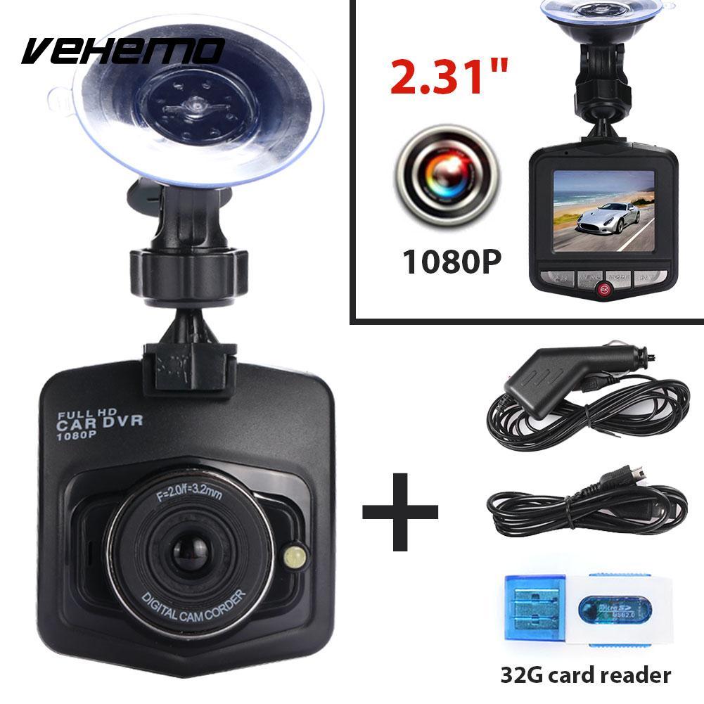 2018 Mini Car DVR 1080P Camera Dashcam Full HD Video Car Registrator Recorder G-sensor Night Vision Dash Cam With Card Reader