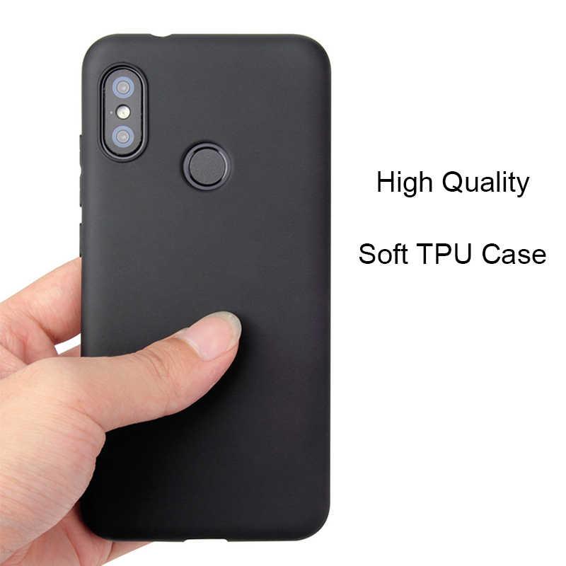 رقيقة الحلوى الفاخرة حالة ل Xiaomi redmi 6 6pro 6A S2 ملاحظة 6 5 5A زائد برو 4X MI8 8 SE 6X Pocophone F1 اللون لينة غطاء سيليكون