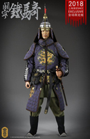1/6 Deputy General of Liaodong Guan Ning cavalry Full set with weapon gun KLG R016 Action Figure Collection Doll Toys Gift