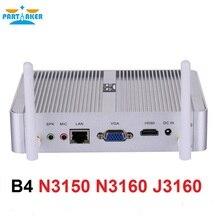 Partaker Partaker B4 4K Kodi HTPC Mini PC Intel Core J3160 N3150 N3160 Windows 10