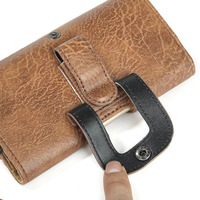 Vetical Horizontal Man Belt Clip Mobile Phone Cases Pouch Outdoor Bags For Xiaomi Redmi Note 3