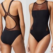 2018 Professional Women Sport Triangular Piece Swimsuit One Piece Swimwear Bathing Suit Sexy Monokini Femme Bodysuit