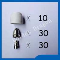 P80 panasonic air plasma cutting cutter torch consumables plasma tips nozzles 60 80 100amp plasma electrodes.jpg 200x200