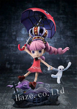 Anime One Piece Ghost Princess Perona PVC Figure Figurine Toy 16cm anime one piece figure one piece toy chopper action figure premium season toy valentine 2012 figurine 17cm