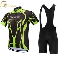 2018 new pro teams kits cycling jerseys set summer mens Bicycle maillot breathable MTB Short sleeve bike clothing gel pad.